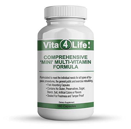 Chelated Mini - Vita4life, Bariatric Multivitamins, Comprehensive Mini Multi-Vitamin Formula – 180 Count