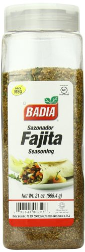 UPC 033844907211, Badia Fajita Seasoning, 21 Ounce (Pack of 6)
