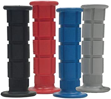 Blue Oury Grips Motorcycle Road Grips