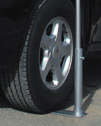Flagpole To Go Portable Flagpole Tire Mount