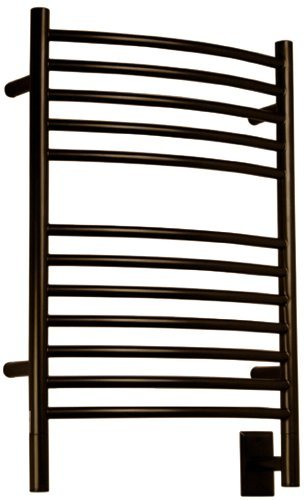 Amba ECO-20 20-1/2-Inch x 31-Inch Curved Towel Warmer, Oil Rubbed - Curved Heated Rack Towel