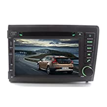 XTTEK 7 inch Touch Screen in dash Car GPS Navigation System for Volvo S60 / V70 2001-2004 DVD Player+Bluetooth SWC+Backup Camera+North America Map