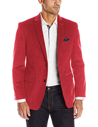 U.S. Polo Assn. Men's Corduroy Sport Coat, Red, 46 Short by U.S. Polo Assn.