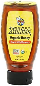 Honey Stinger Organic Honey from Wildflowers, 12 oz