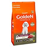 Ração Golden Fórmula Mini Bits Para Cães Adultos Pequeno Porte Sabor Carne E Arroz, 1Kg Premier Pet Para Todas Pequeno Adulto