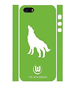 Iphone 5 5s Carcasa Vfl Wolfsburg Classic Photo Impresoed Hard Skin Plastic Carcasa Para Hombres