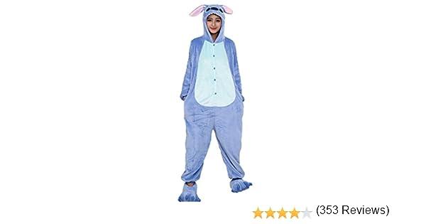 Emmarcon - Disfraz de carnaval halloween pijama cálido de animales ...