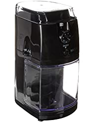 Secura SCG-903B Automatic Electric Burr Coffee Grinder Mill, Black