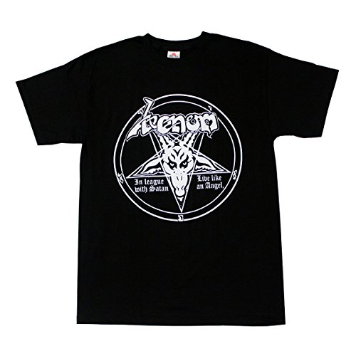 Alstyle Men's Venom Metal Band T-Shirt X-Large Black (Metal Band T-shirt)