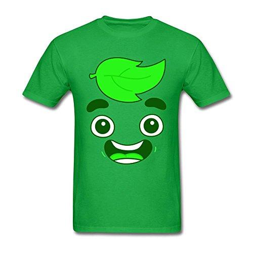 Xingl Mens Guava Juice Youtuber Cute Head Design T Shirt