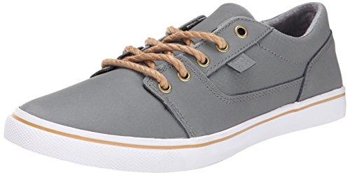 DC Women's Tonik W XE Skate Shoe, Grey, 8.5 M US