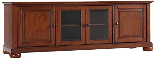 Crosley Furniture KF10005ACH Alexandria 60-inch Low-Profile TV Stand, Classic Cherry