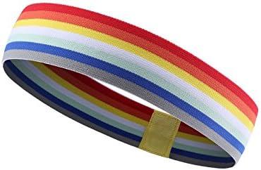 スポーツヨガランニングベルト通気性速乾性フィットネスヨガ発汗抑制スウェットガイドヘッドバンド (Color : 1)