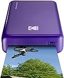 Kodak Mini 2 HD Wireless Portable Mobile Instant Photo Printer, Print Social Media Photos, Premium Quality Full Color Prints – Compatible w/iOS & Android Devices (Purple)