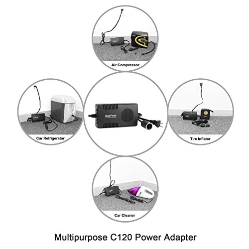 free shipping roypow 120w max 150w power supply ac to dc adapter 110v 120v to 12v car cigarette. Black Bedroom Furniture Sets. Home Design Ideas