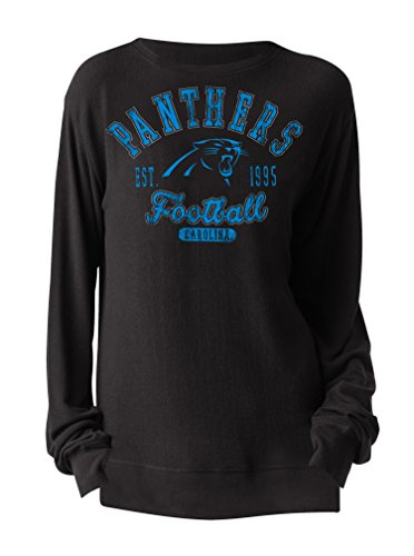 NFL Carolina Panthers Women's Sweater-Knit Pullover with ...