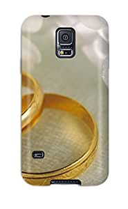 New Fashion Premium Tpu Case Cover For Galaxy S5 - Wedding Rings