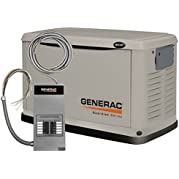 GENERAC POWER SYSTEMS 6237 8/7KW AirCool Generator