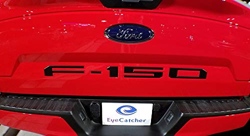 EyeCatcher Tailgate Insert Letters for 2018-2019 Ford F150 (Black)