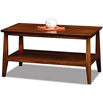 Amazon Com Bowery Hill Small Solid Wood Coffee Table In