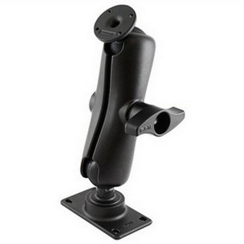 RAM Mounts (RAM-D-101U) 2.25'' Diameter Ball Mount with 2/3.68'' Round Base That Contain the Amps Hole Pattern
