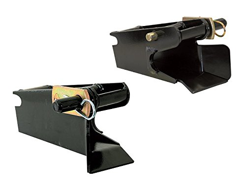 Receiver / Pocket Set for Western UltraMount Snow Plows Blades 67858 / 67859 DS & PS by Buyers / SAM