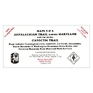 Appalachian Trail Conservancy Map: Maryland