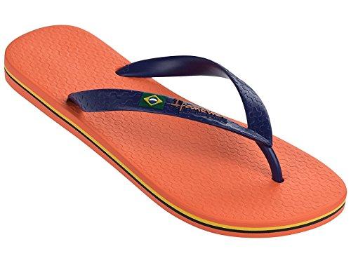 Ipanema Classica Brasil II - Chancletas, Hombre naranja/azul marino