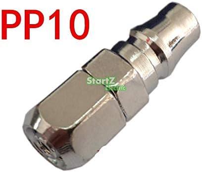 QUAROS PP10 Join Hose 6mm X 4mm Pneumatic Air Compressor Hose Quick Coupler Plug Socket Connector