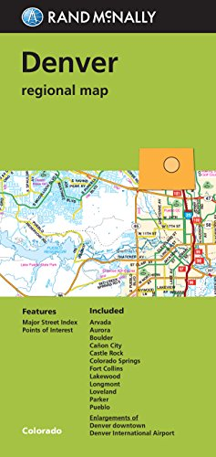 Folded Map  Denver Regional Map