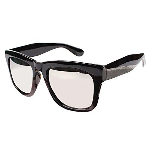 Wayfarer Polarisées Lentille Femmes Sunglasses Lunettes Cadre LINNUO Protection 1blanc de Soleil Eyewear Métal Hommes UV Noir Cadre XUzqwpT