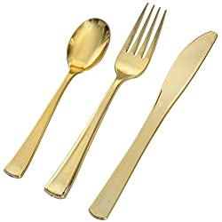 Fineline Golden Secrets Cutlery, 75 pcs