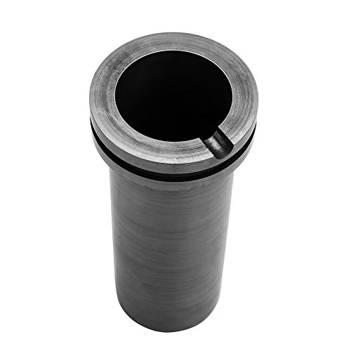 KKmoon 1KG Foundry Clay Graphite Crucibles Cup for High-Temperature Gold and Silver Metal Smelting Casting