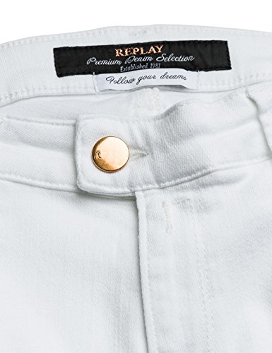 Femme Replay white Jeans optical Blanc White Touch Optical wOI4A