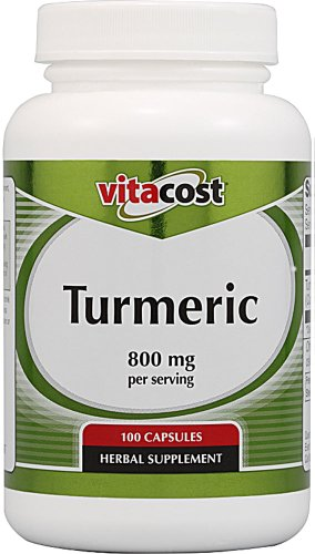 Vitacost Turmeric Extract -- 800 mg per serving - 100 Capsules (Vitacost Turmeric Extract compare prices)