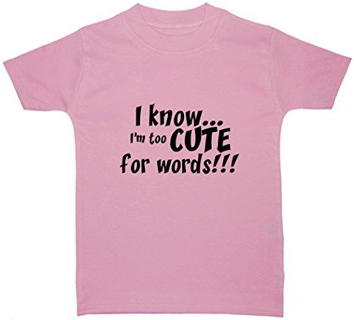 0 shirt Bébé Acce Uni fille 24 Rose À Courtes Products Mois T Manches E1nqA48w