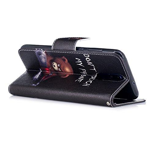 Caselover Funda Huawei Mate 10 Lite, Libro Flip PU Piel Carcasa para Huawei Mate 10 Lite Smartphone Suave Cuero Folio Tapa y Cartera con TPU Silicona ...