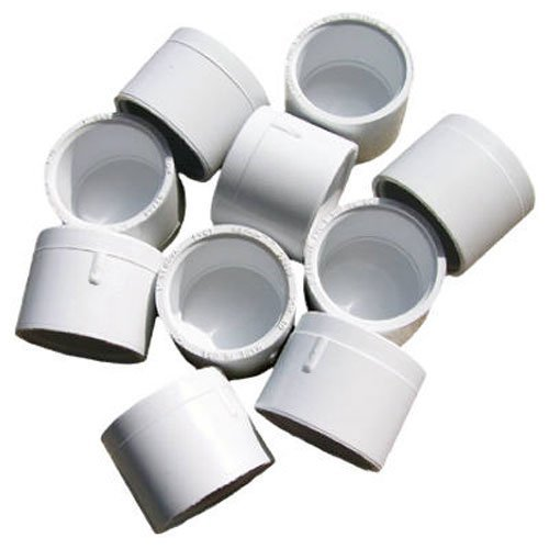 Genova Products 30158CP 1-Inch PVC Pipe Cap, Slip - 10 Pack