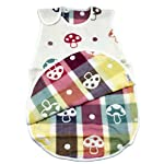 LUXEHOME-Cotton-Baby-Sleeping-Bag-with-Cute-Mushroom-Pattern-100-Natural-Cotton-Wearable-Blanket-Large-Mushroom