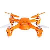 Tekstra Hubsan Spyder Micro Drone RC Quadcopter, Beginner Drone with Remote Controller, Fire Orange