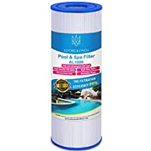 Alford & Lynch 50 sq. ft. Spa Filter for Hot Tub Replaces Pleatco PRB50-IN, Unicel C-4950, Filbur FC-2390, Dynamic 03FIL1600, Pentair R173434, 5 X 13 Hot Tub Filter