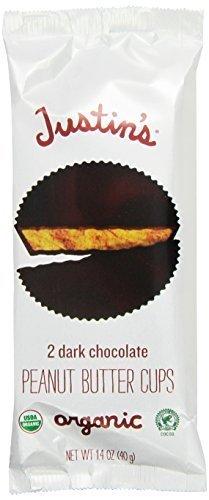 Justin's Dark Chocolate Peanut Butter Cups 1.4oz - 6 Pack