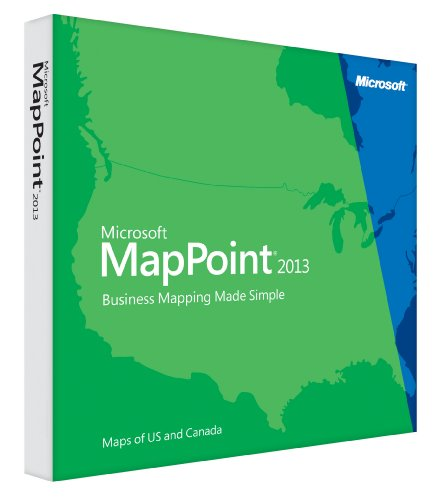 MapPoint 2013 North America by Microsoft