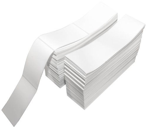 Compulabel Thermal Transfer Shipping Labels, 3 inch x 5 inch, White, Fanfold, Permanent Adhesive, Perforations Between Labels, 2300 Per Stack, 2 Stacks per Carton