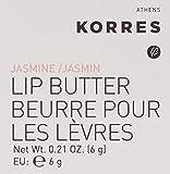 Korres Jasmine Lip Butter, 0.21 oz