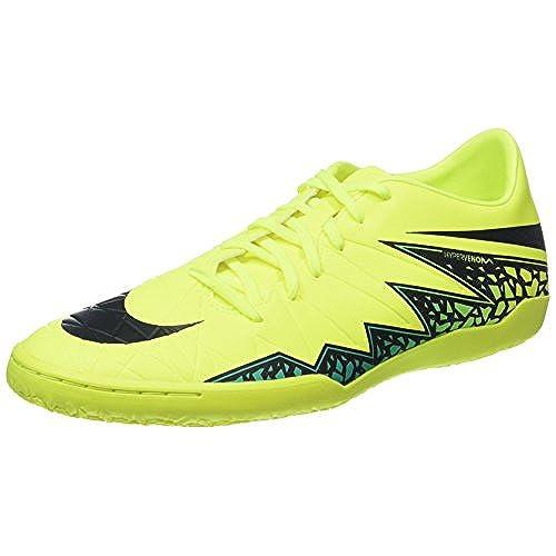 NIKE Men's Hypervenom Phelon II IC Indoor Soccer Shoe (SZ. 10) Volt