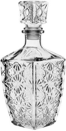 1,5 L Karaffe Flasche Whiskykaraffe Cognacflasche Glaskaraffe Whisky Dekanter