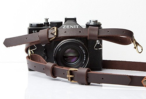Camera strap personalized leather camera strap for DSLR and Rangefinder