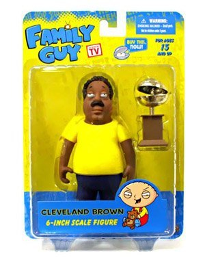 Family Guy Figures Series (Mezco Toyz Family Guy 6 Inch Classic Action Figure Series 2 Cleveland Brown)