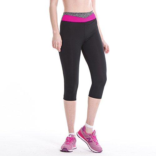 Women Active Leggings Sports Workout Tight Running Yoga Bra+ Pants - 2